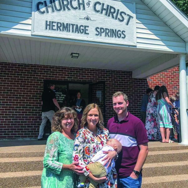 Young and old alike helped the Hermitage Springs Church of Christ celebrate 180 years.