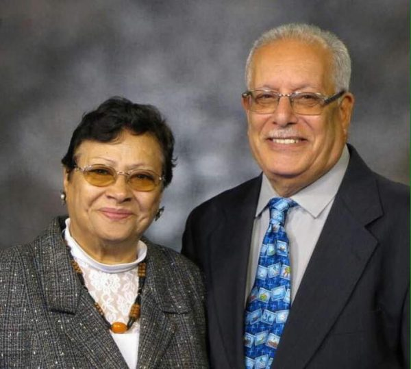 Francis Habashy and his wife, Evon.