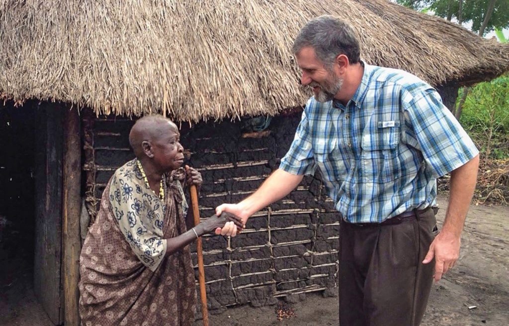 Missionary Jeff Cash has worked with villagers in Uganda for 25 years.