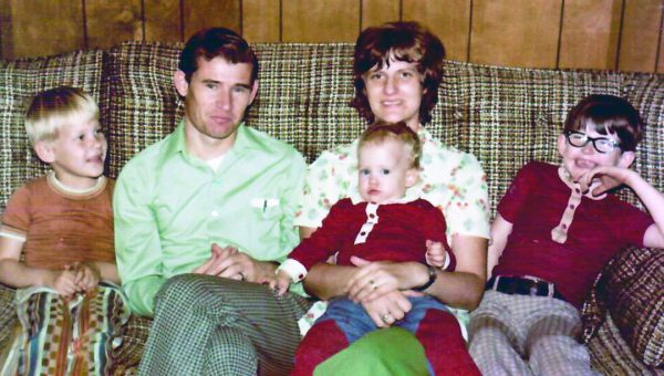 While living in West Monroe, La., in the mid-1970s, the Rosses pose for a photo. Pictured are Bob and Judy with son Scott, daughter Christy and son Bobby.