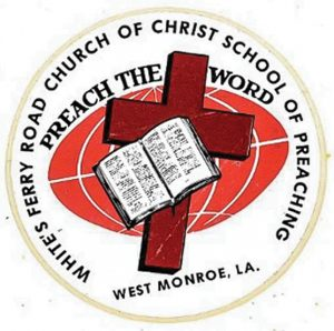 Read more reflections on the White's Ferry Road School of Preaching.