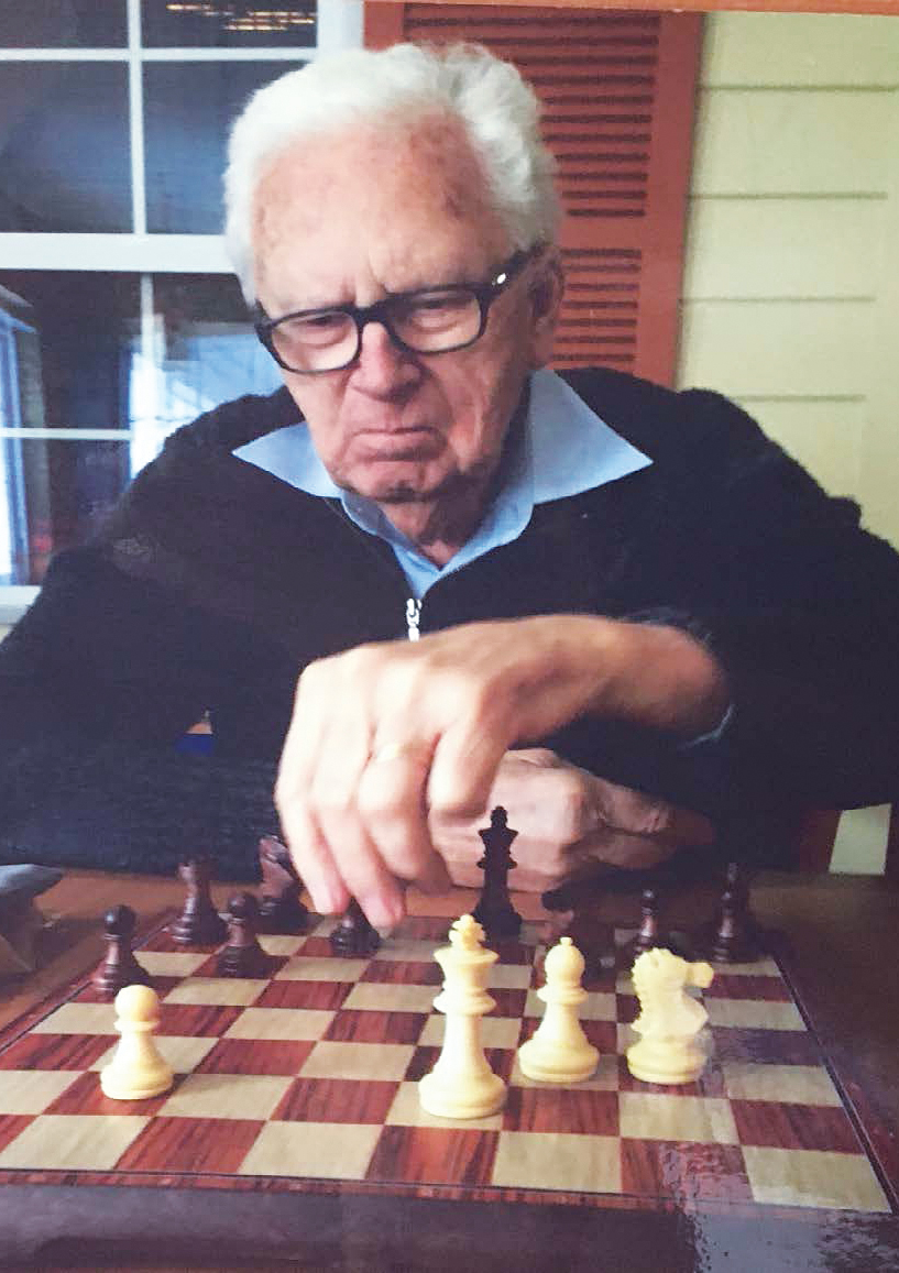 Born in Bridgeport, Conn., Carl David Brandt began playing chess at age 12.