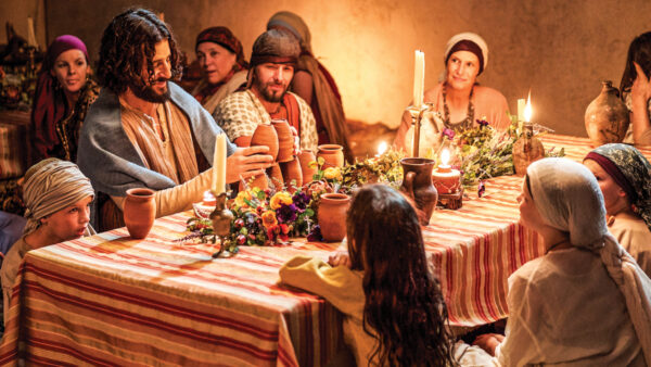 """Jesus (Jonathan Roumie) in a scene from episode 5 of """"The Chosen."""""""