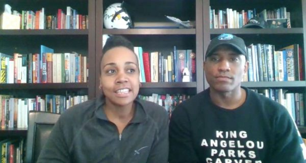 Dionna Glover and her husband, Victor, talk about their faith during an interview with The Christian Chronicle.
