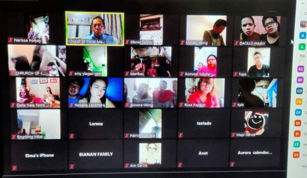 The Twinville Church of Christ in Manila meets via Zoom.