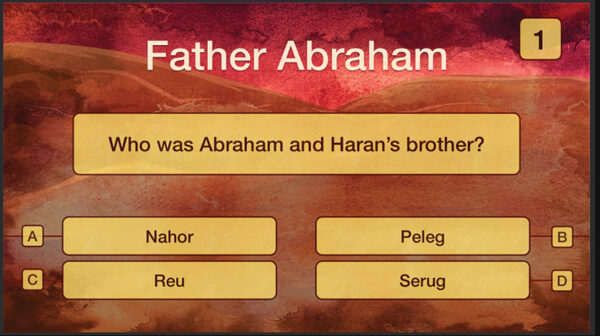 A question from a British Bible School quiz. Find the answer in Genesis 11.