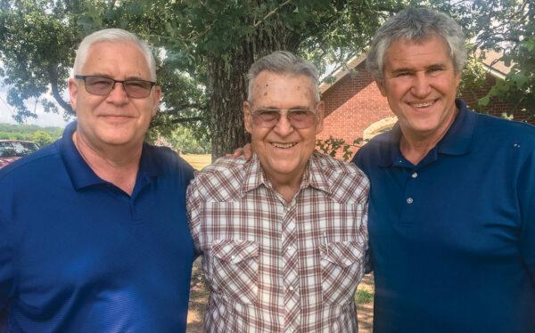 James (Jay), Casey and Kirby Jones