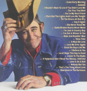 """The back cover of 2006's """"The Definitive Collection, Don Williams."""""""