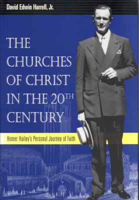 """""""The Churches of Christ in the 20th Century: Homer Hailey's Personal Journey of Faith"""" (2002) is one of many titles by religion scholar Ed Harrell Jr."""