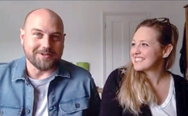 Justin and Jennifer Gerhardt speak with The Christian Chronicle from their temporary home in southern England.