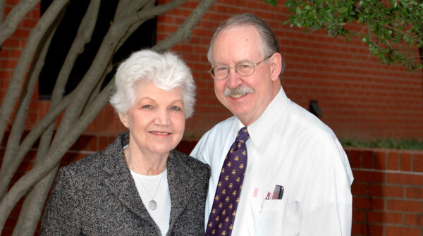 Fern and Jerry Hill during a 2006 visit to Oklahoma.