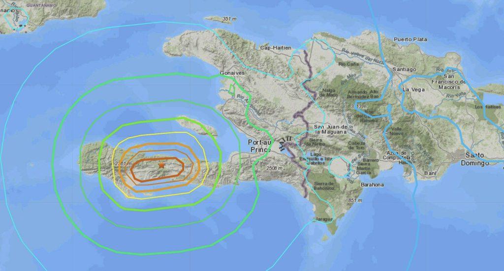 Haiti earthquake Aug. 14, 2021