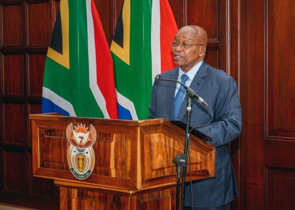 Former South African President Jacob Zuma.