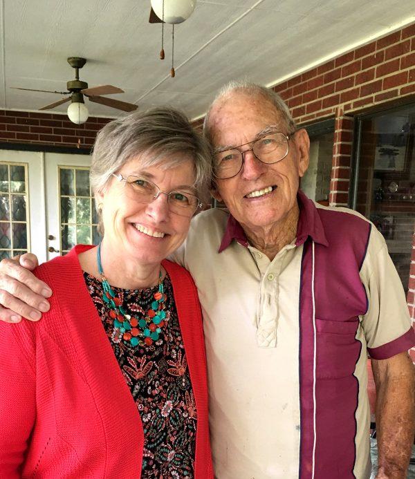 Becky Johanson and Walter Moseley