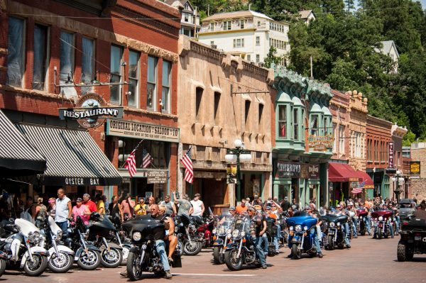 Each August, the world-famous Sturgis Motorcycle Rally draws hundreds of thousands of bikers to the southwestern region of South Dakota.
