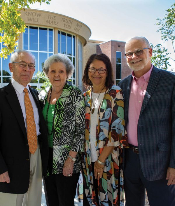 Pictured from left to right, Al Smith, Pat Smith, JoAnn Long and Jesse Long.