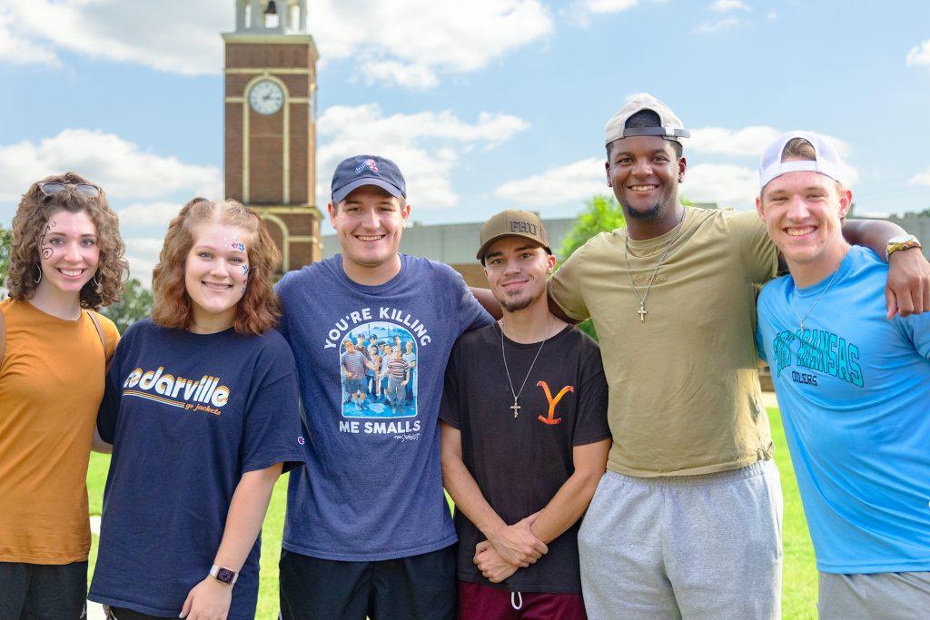 Freed-Hardeman University students returned for fall semester classes.