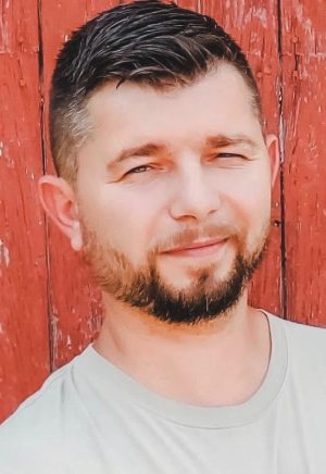 Yuri Sushchik, born in Ukraine, is a minister for the Church of Anderson and runs a small trucking company.