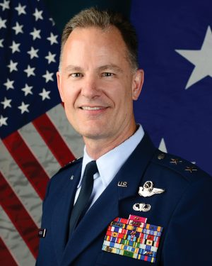 Retired Major Gen. Eric Overturf of Arlington, Va.