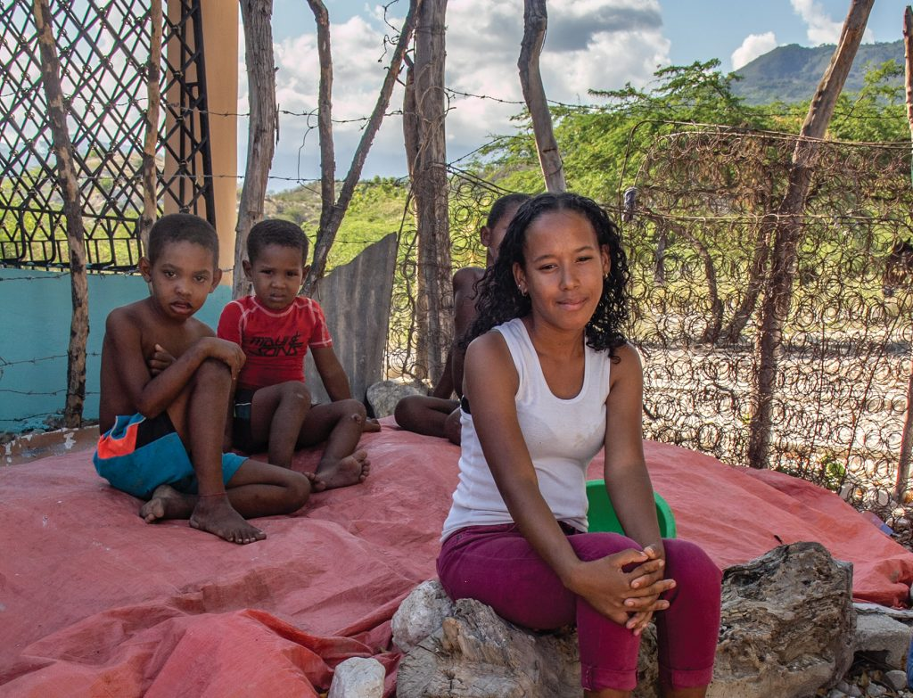 Milagro Morillo, 15, has been sponsored through Christian Relief Fund for three years. The support has helped her family through the pandemic, her mother said.